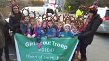 Daisy Troop 01047 at Frosty Parade
